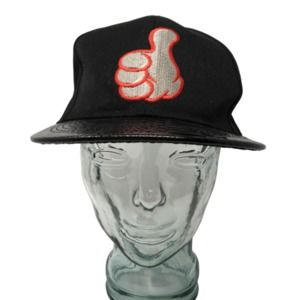 New League Thumbs Up Baseball Cap Hat Embroidered